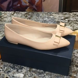 COLE HAAN Size 9 Women's NUDE LEATHER 100% Leather